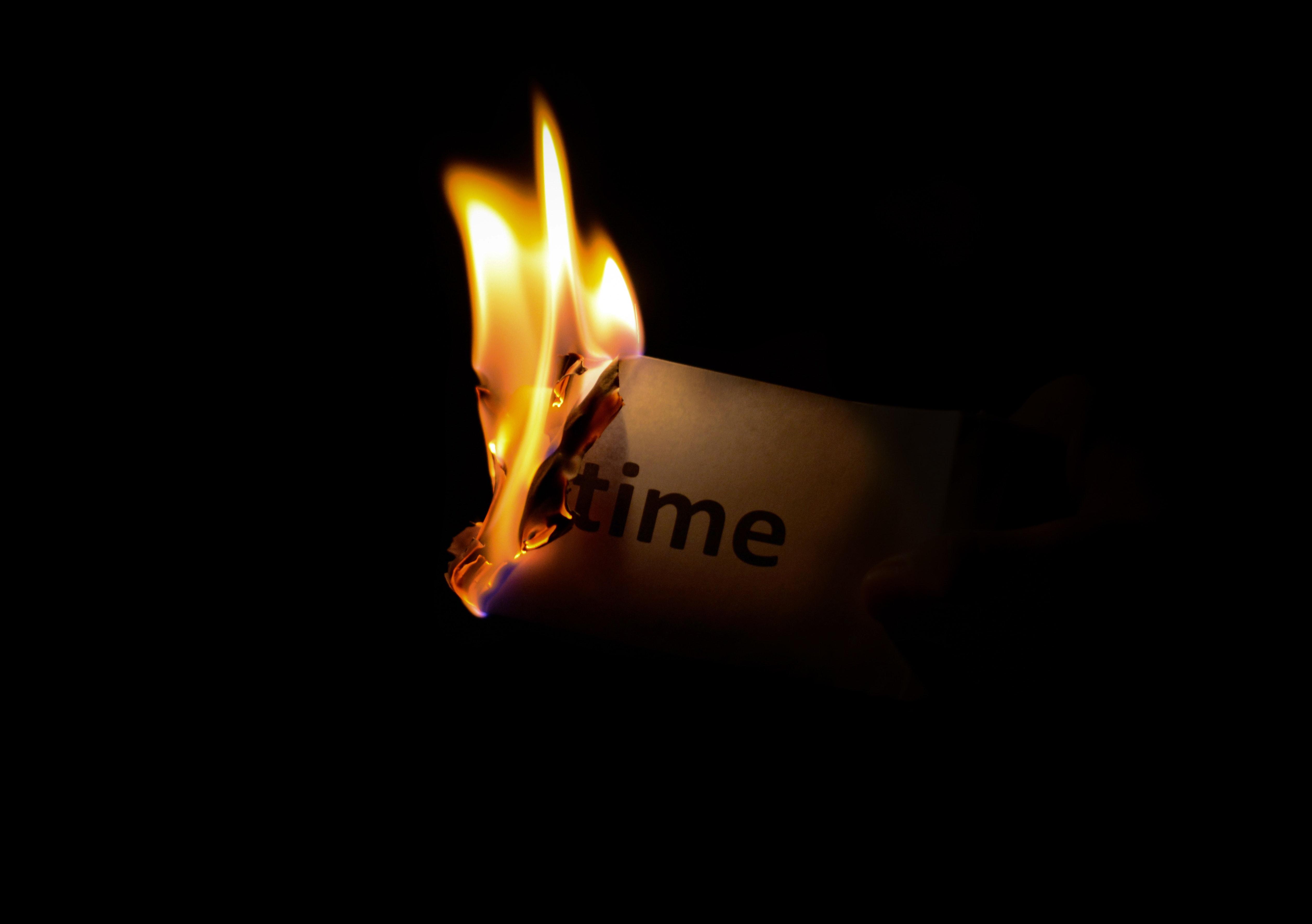 Time Burning