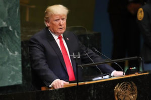 President Trump at UN