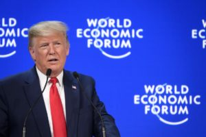 President Trump at Davos 2020Elites