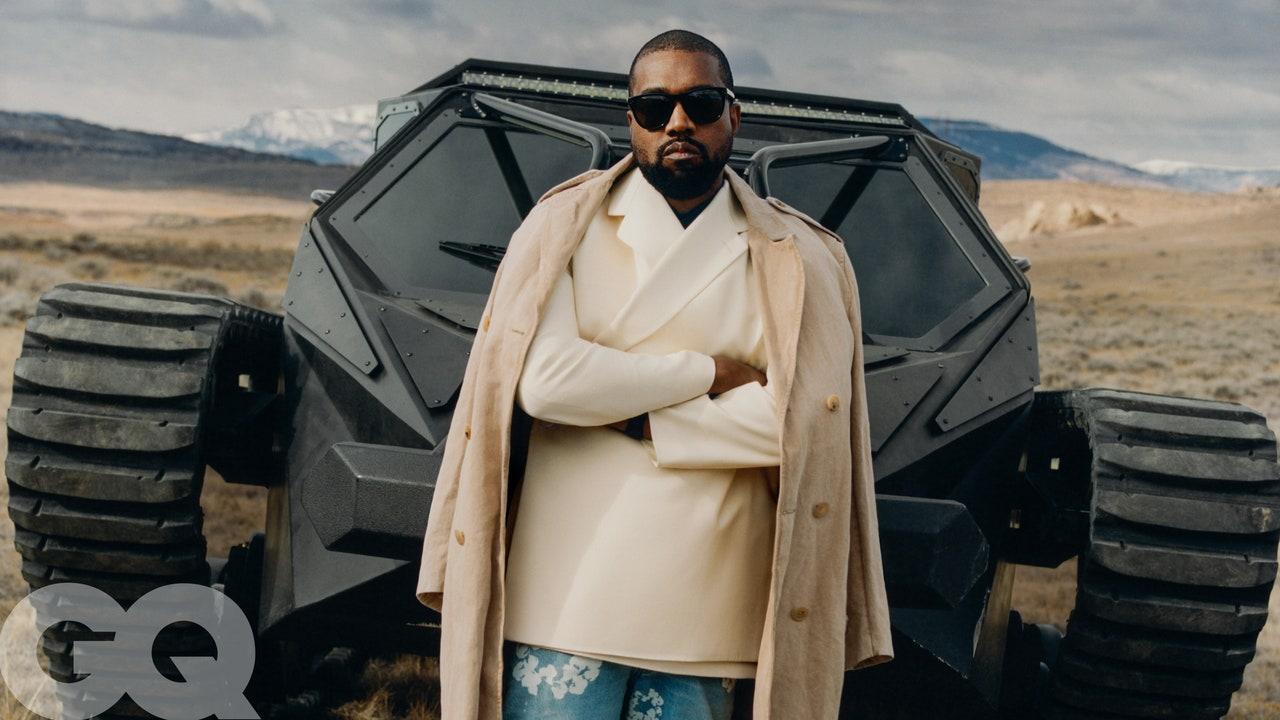 Kanye West GQ Shoot