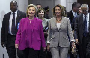 Nancy Pelosi Hilary Clinton