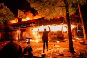 Fires Burn in Minnesota
