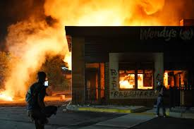 Atlanta Wendy's on Fire