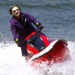 Joker on Jet Ski in NYC