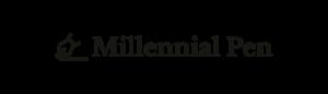 logo transparent millennial pen 750x200